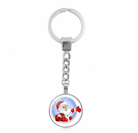 Amazon.com: Llavero de Navidad, adorno de Navidad, adorno de ...
