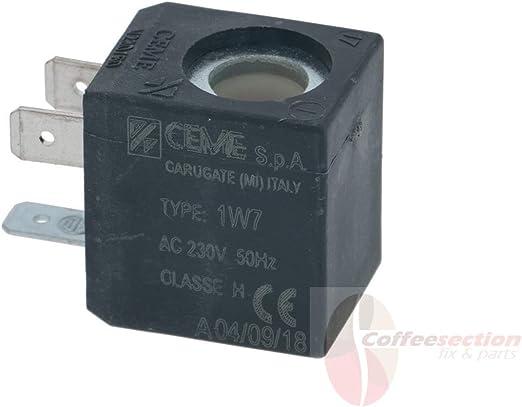Gaggia Classic - Bobina de solenoide CEME (230 V/50 Hz, compatible ...