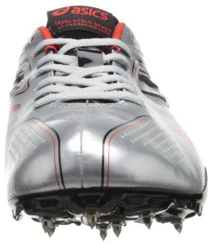 ASICS Men's Sonicsprint Track Shoe,Silver/Fire Red/Black,8 M US by ASICS (Image #4)