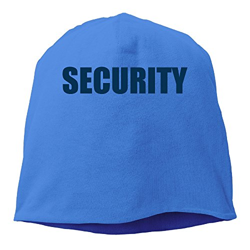 YUVIA SECURITY Men's&Women's Patch Beanie Hip-HopRoyalBlue Hat For Autumn And Winter