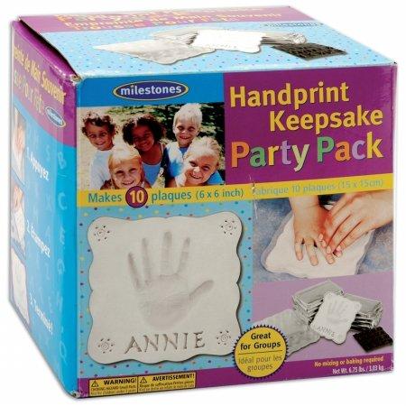 Handprint Keepsake Craft - Midwest Products Co. Handprint Keepsake Party Pack 10/Pkg-