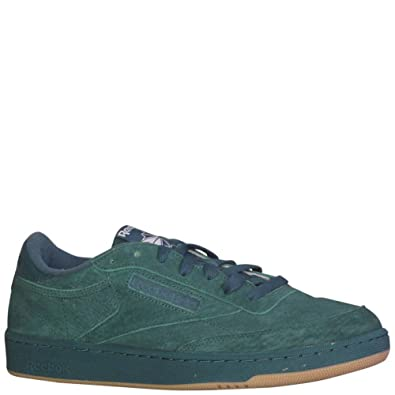 386f49fc71d Reebok Men s Club C 85 SG Fashion Sneakers Washed Jade White Gum   Amazon.co.uk  Shoes   Bags