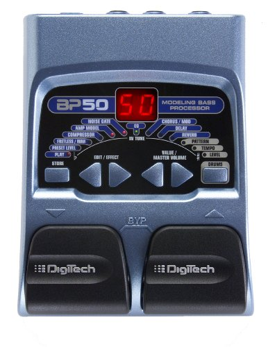 Bass Signal Processor (DigiTech BP50 Bass Multi-Effects Processor)