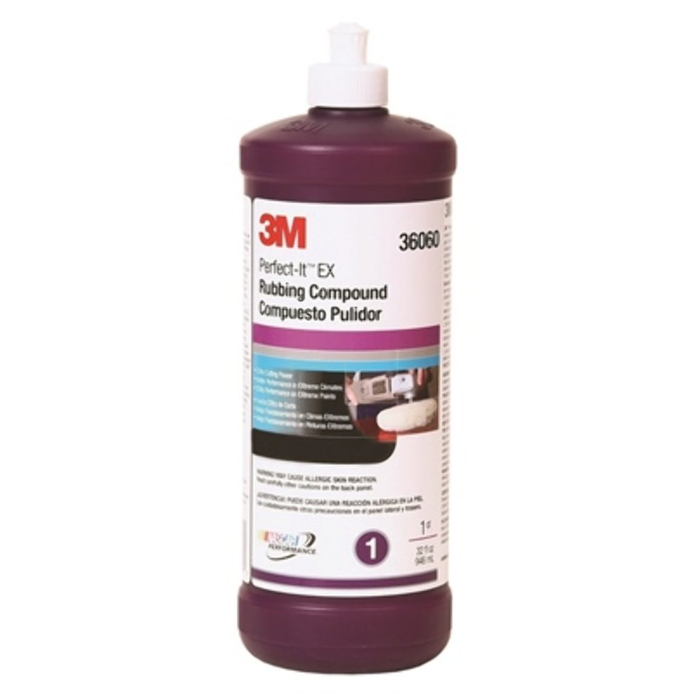 3M 36060 Perfect-It 3000 Extra Cut Rubbing Compound - 1 Quart