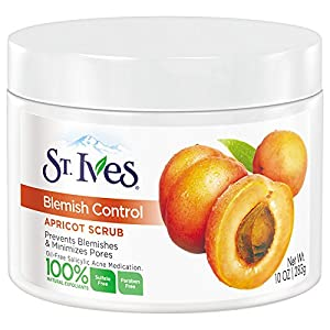 St. Ives Blackhead Clearing Face Scrub, Green Tea 6 oz