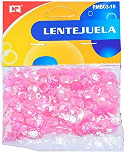 MP PMB03-16 - Blister de lentejuelas, color rosa