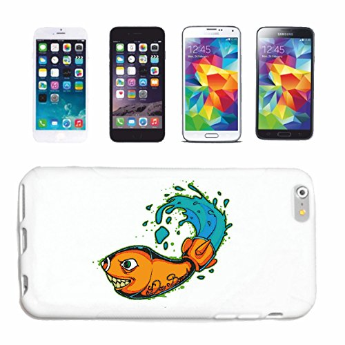 caja del teléfono iPhone 6+ Plus Da Bomb GOLDFISCH AS ROCKET VIDA DE MANERA STREETWEAR HIPHOP SALSA LEGENDARIO Caso duro de la cubierta Teléfono Cubiertas cubierta para el Apple iPhone en blanco