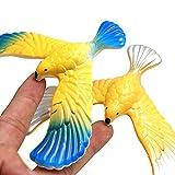 Wffo Amazing Balancing Eagle with Pyramid Stand Magic Bird Desk Kids Toy Fun Learn (Random Color)