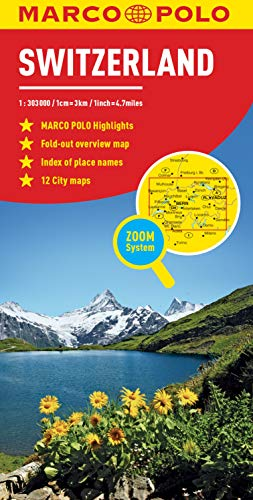 Switzerland Marco Polo Map (Marco Polo Maps)...