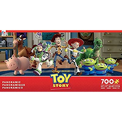 Ceaco Disney Panoramic Toy Story Jigsaw Puzzle, 700 Pieces: Toys & Games