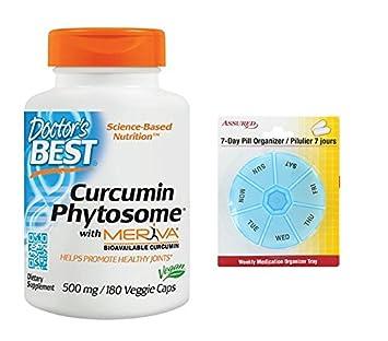Mejor curcumina Phytosome del doctor vegetariano de Meriva con cápsulas, 500mg 180 cuenta