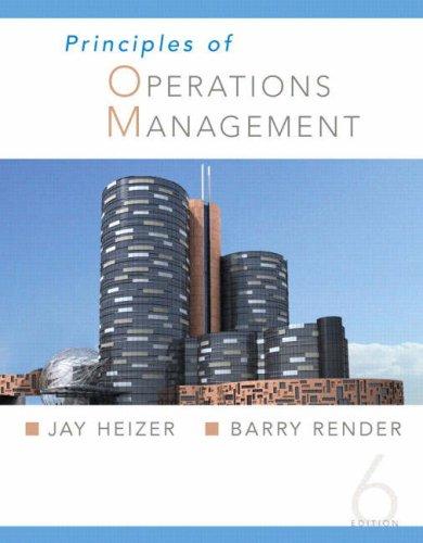 Read Online Principles of Operations Management pdf epub