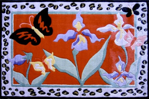 (LA Rug Irises Rug 39