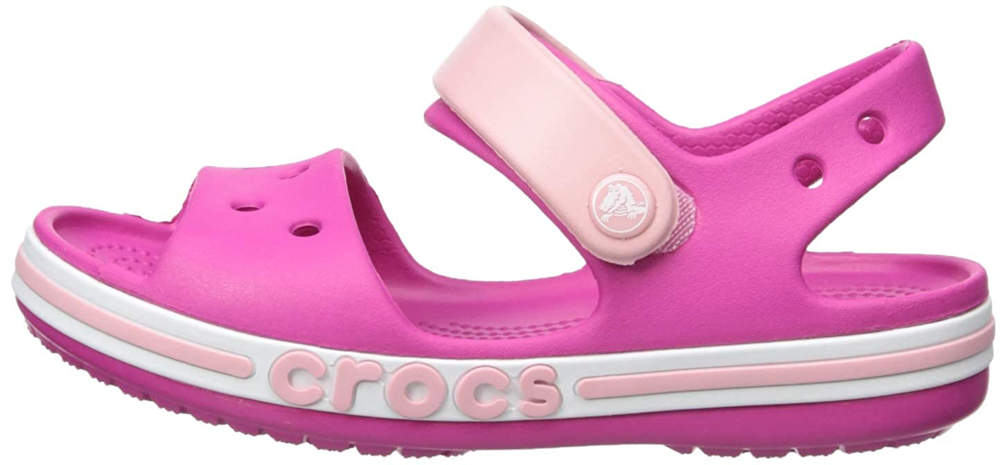 Crocs Kids Boys /& Girls Bayaband Sandal Flip-Flop