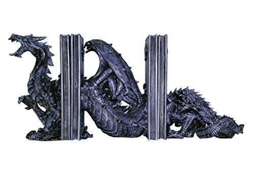 3piezas Dragón sujetalibros–Dragón Dragon Gothik Vogler