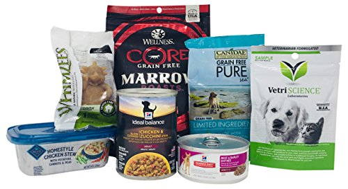 Dog Food and Treat Sample Box (get an equal credit toward future purchase of select dog food and treat - Dog Foods Sample