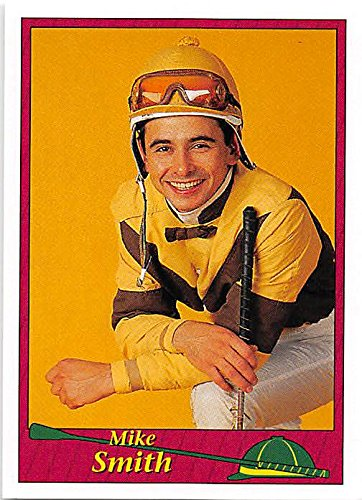Mike Smith trading card (Horse Racing) 1994 Jockey Star #197
