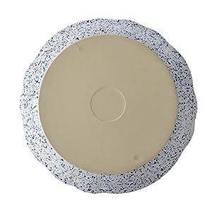 Paula Deen 46818 Stoneware Bakeware Pie Dish, Seaspray White