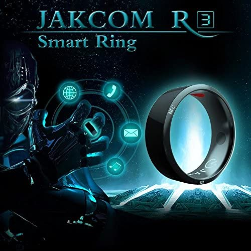 GalaRing G1 Mens NFC Smart Ring for Smartphone with Unlock Smartphone & Exchange Data Function Big size (Black): Amazon.es: Electrónica