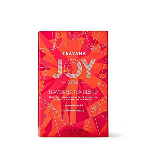 Starbucks 2017 Teavana Joy Full Leaf Sachets and Tin, 12-0.10oz/2.8g sachets by Teavana (Image #2)