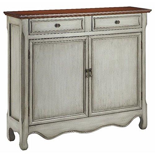 Stein World Furniture 13018 2 Door Cupboard, Gray