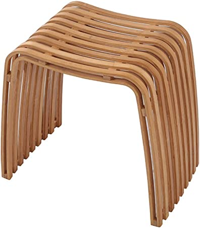 Natural 12.6W x 20H Honey-Can-Do Bamboo Shower Stool