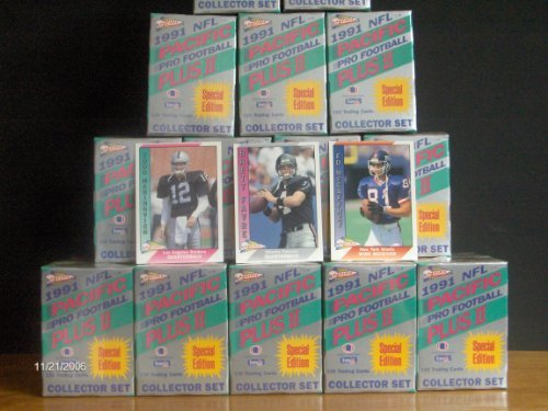 1991 Pacific Football Series 2 Factory Sealed Set (Brett Favre Rookie) - 1991 Pacific Football