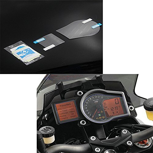 Motorcycle Cluster Scratch Protection Film Screen Protector Cover for KTM 1050 1190 1290 ADV Adventure RC8 GT Super Duke R 2008 2009 2010 2011 2012 2013 2014 2015 2016 2017 ()