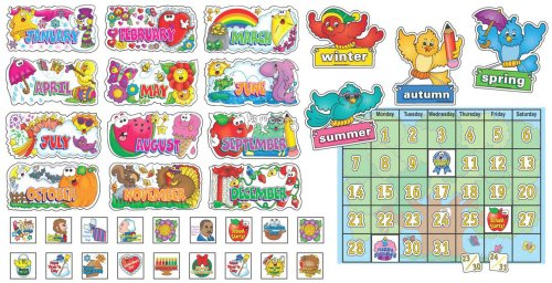 - Scholastic Teacher's Friend Seasonal Calendar Bulletin Board (TF3008)