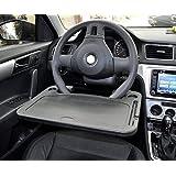 Cutequeen Trading car 1pcs Eating/Laptop Steering Wheel Desk Black(Pack of 1)