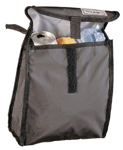 Auto Expressions 5069742 Axius Basix Gray Car Auto Litter Bag Large Trash Bag by Throttle Muscle