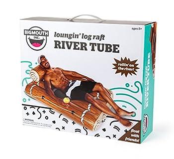 Bigmouth Inc Loungin' Log Raft River Tube 2