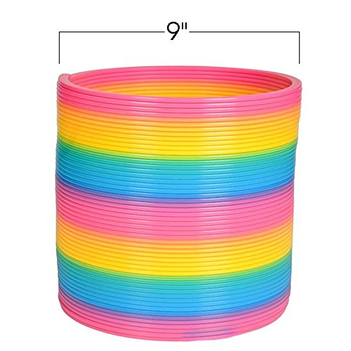 ArtCreativity Gigantic Coil Spring | Opens to 16 Feet | Jumbo Plastic Rainbow Coil Spring | Great Gift idea for Boys and Girls Ages 3+ by ArtCreativity (Image #1)