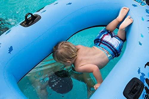 The Best Clear Bottom Inflatable Raft/Boat for Kids and Adults [Sieco Design] Picture