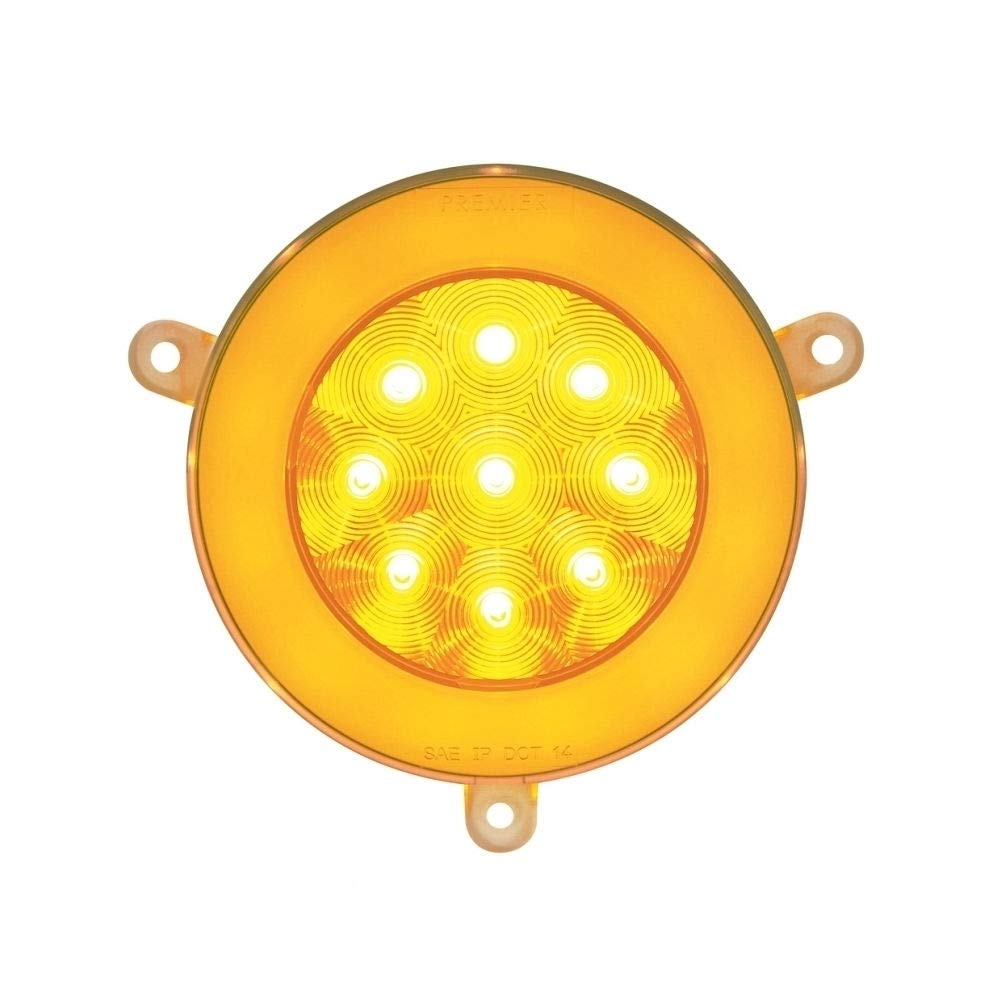 21 High Power LED 05+ Freightliner Century Glo Signal Light - Amber LED/Clear Lens by United Pacific (Image #1)