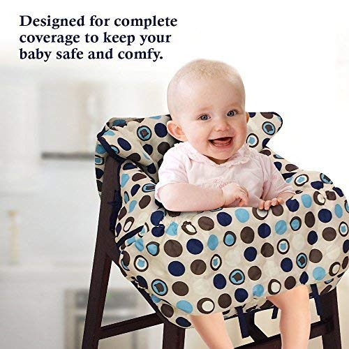 Bruciare Pilates Chair Buy Online In Uae: 2-in-1 Shopping Cart Cover High Chair Cover For Baby