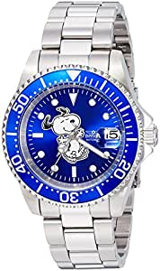 Invicta Men's Automatic Stainless Steel Casual Watch, Color:Silver-Toned (Model: 24783)