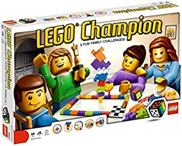 LEGO Games 3861 Lego Champion - Juego de Mesa: Amazon.es ...
