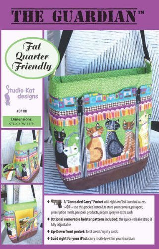 Med Carry Bag (The Guardian Conceal Carry Bag Purse Pattern No. 3100 By Studio Kat Designs)
