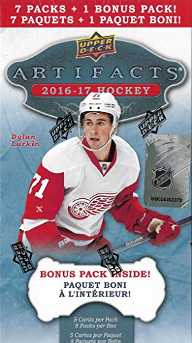 Legends Auto Card - 2016 2017 Upper Deck Artifacts NHL Hockey Series Unopened Blaster Box of Packs with Chance for Rookies Game Used Jerseys and Autographs