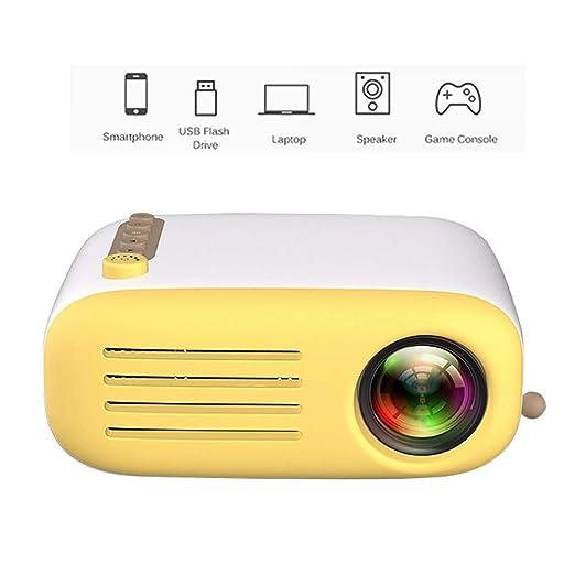Mini proyector, Teatro de Cine en casa LED portátil con PC ...