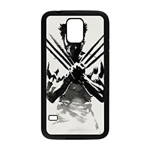 Samsung Galaxy S5 Cell Phone Case Black Wolverine 007 HIV6755169521722