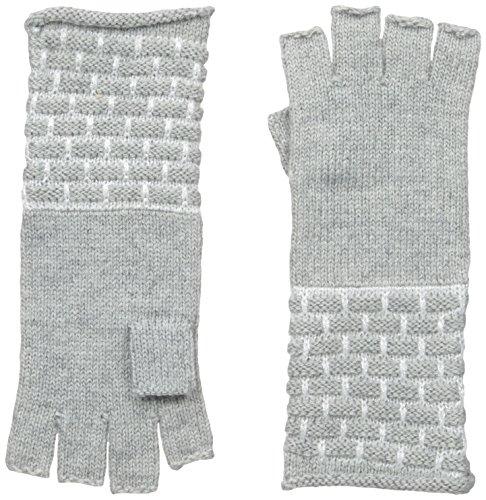 Calvin Klein Women's Brick Stitch Fingerless Gloves, Heat...