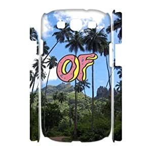 wugdiy New Fashion Hard Back Cover 3D Case for Samsung Galaxy S3 I9300 with New Printed odd future