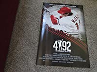 "PETE ROSE ""29x42"" (Unsigned) #4192 Record Hit Baseball Movie Poster/Photo"
