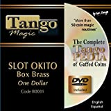 Slot Okito Coin Box BRASS One Dollar by Tango Magic