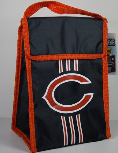 NFL Chicago Bears Velcro Lunch Bag (Chicago Bears Lunch Box compare prices)