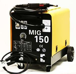 MIG-150 GAS / NO GAS DUAL MIG WELDER FLUX 220V 150 AMP