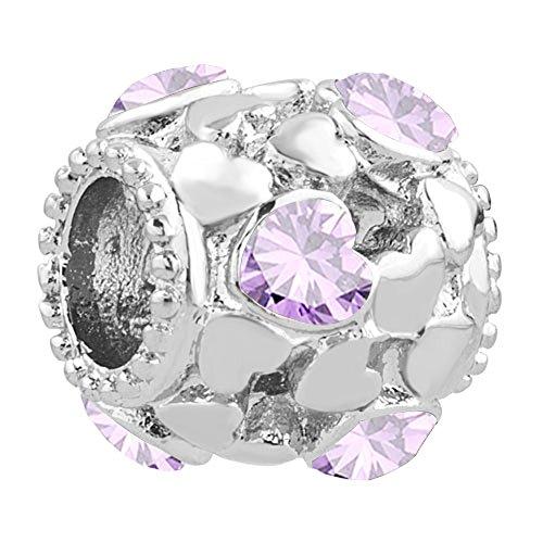 lilyjewelry-heart-love-charm-with-purple-crystal-beads-for-snake-chain-charm-bracelet
