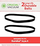 eureka the boss smart vac belt - 2 Replacements for Eureka R Belt Fits 4800 SmartVac Series, Compatible With Part # 61110 & 61110B, Long Life & Durable, by Think Crucial